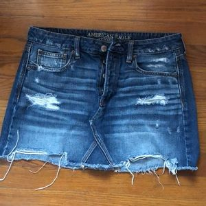 AEO Jean skirt